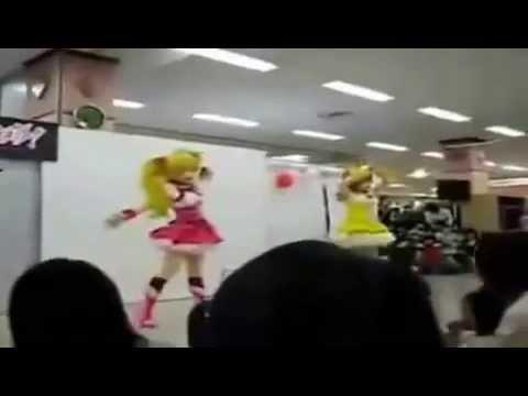ヒーローショーハプニング映像