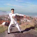 武術を極める武術者達の映像。もはや映画の世界